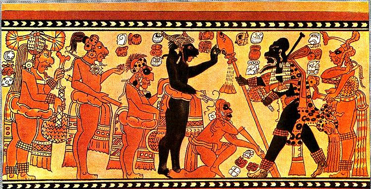 Племя майя рисунок