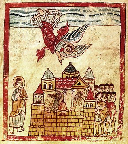 Ангел провозглашает падение Вавилона