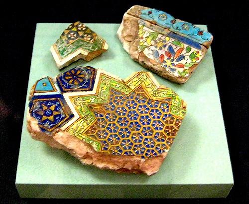 Керамика, найденная на месте, где стояла столица Бату-хана